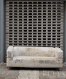 Old furniture thrown away Stock Photo