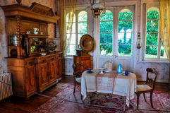 Old furnitures at Historical German Museum of Valdivia, Chile Royalty Free Stock Photography