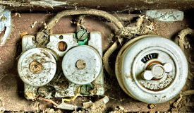 Old fuse Royalty Free Stock Photo