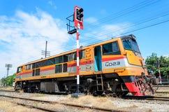 Old G.E. locomotive. Stock Photography