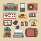 Old Gadget Icon Royalty Free Stock Photos