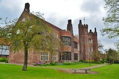 Old Gainsborough Hall. Side view of the Hall Royalty Free Stock Photo