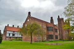 Old Gainsborough Hall. Side view of the Hall Royalty Free Stock Images