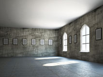 The old gallery Stock Photo