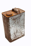 Old gallons of oil Royalty Free Stock Image