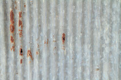 Old galvanized sheet Royalty Free Stock Image