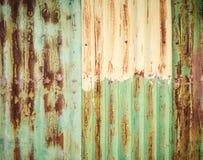Old galvanized steel Stock Photos