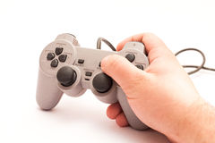 Old gamepad isolated. Royalty Free Stock Image
