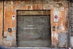 Old Garage Royalty Free Stock Photos
