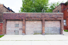 Old Garage Royalty Free Stock Photos