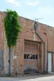 Old Garage Door Stock Images