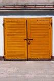 Old Garage Door Royalty Free Stock Image