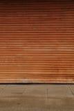 Old garage door Stock Photo
