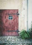 Old garage door Royalty Free Stock Photo