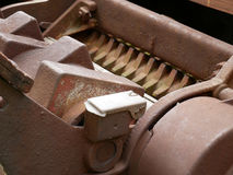 Old garden or agricultural shredder. Royalty Free Stock Photography