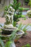 Old garden birdbath Royalty Free Stock Photos