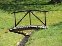 Old garden bridge, south Bohemia. Czech Republic Stock Photos