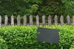 Old garden fence Stock Photos