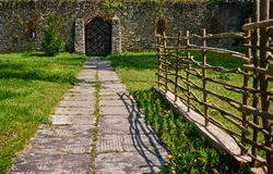 Old garden gate Royalty Free Stock Image
