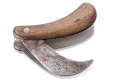 Old garden knife Stock Image