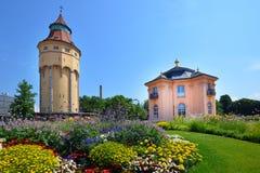 Old garden pagoda house in Rastatt, Germany Royalty Free Stock Photo