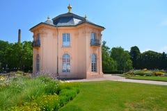 Old garden pagoda house in Rastatt, Germany Royalty Free Stock Photography