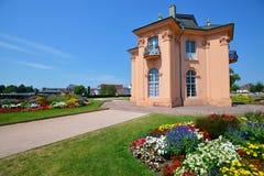 Old garden pagoda house in Rastatt, Germany Royalty Free Stock Images
