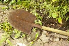 Old Garden Shovel Stock Image