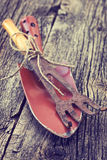 Old garden tools Royalty Free Stock Images