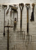 Old Garden Tools Stock Photo