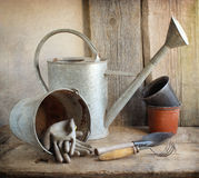 Old garden tools Stock Image