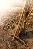 Old garden tools Stock Photos