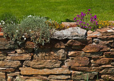 Old garden wall Royalty Free Stock Photography