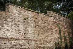 Old Garden Wall Stock Photography