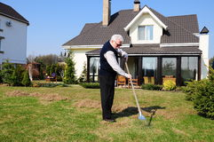Old gardener Royalty Free Stock Images