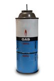 Old Gas Can. An old gas can on white background with some dust on it Royalty Free Stock Photo