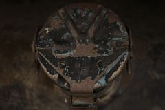 old gas cap royalty free stock images