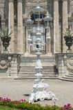 Old gas lamp post at ottoman palace Stock Image