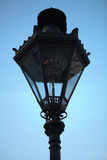Old gas lamp at the Upper Town of Zagreb, Croatia Royalty Free Stock Images