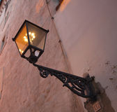 Old gas lamp Stock Photography