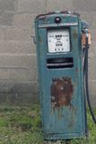 Old Gas Pump. Rusty old gas station pump stock images