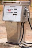 Old gas pump. Gas pump at abandoned gas station Stock Photos
