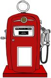 Old gas pump Royalty Free Stock Photo