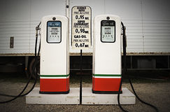 Old gas pumps Royalty Free Stock Image