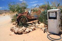 Old gas station pump Stock Image