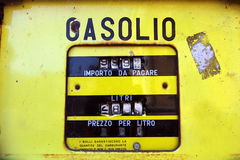 Old gas station Stock Photos