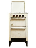 Old gas stove Stock Photos