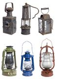 Old gasoline lamps Stock Image