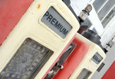 Old gasoline pump Stock Image