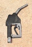 Old Gasoline Pump Nozzle Royalty Free Stock Image
